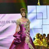 Raquel Bollo en el tercer desfile de la segunda edición de la