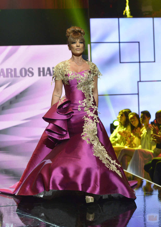 """Raquel Bollo en el tercer desfile de la segunda edición de la """"Sálvame Fashion Week"""""""
