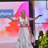 """Belén Esteban en el cuarto desfile de la segunda edición de la """"Sálvame Fashion Week"""""""