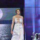"""Paz Padilla en el último desfile de la segunda edición de la """"Sálvame Fashion Week"""""""