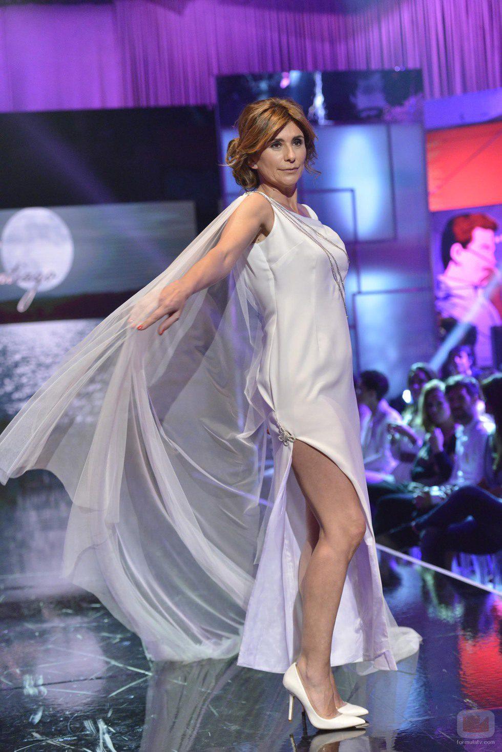 """Gema López en el último desfile de la segunda edición de la """"Sálvame Fashion Week"""""""