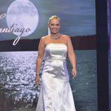 """Belén Esteban, vestida de novia en el último desfile de la segunda edición de la """"Sálvame Fashion Week"""""""