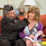 Coque y Berta intentan ayudar a Antonio en 'La que se avecina'