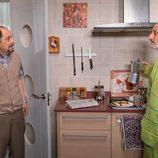 Enrique intenta convencer a Antonio para estudiar un Master en 'La que se avecina'