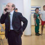 Enrique habla por teléfono desde el hospital en 'La que se avecina'