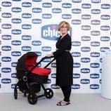 Primera aparición el público de Tania Llasera tras dar a luz