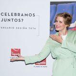 La copresentadora de 'La Voz' sonríe en el photocall