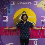 Raúl Gómez en la presentanción del programa de #0 'Maraton man'