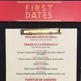 El menú de 'First Dates'
