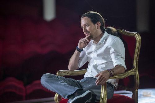 Pablo Iglesias, el primer invitado de 'Feis tu feis'