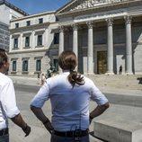 Pablo Iglesias y Joaquín Reyes en el primer programa de 'Feis tu feis'