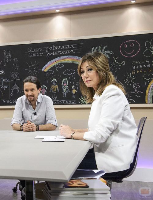Pablo Iglesias y Ana Rosa Quintana en '26J: Quiero gobernar'