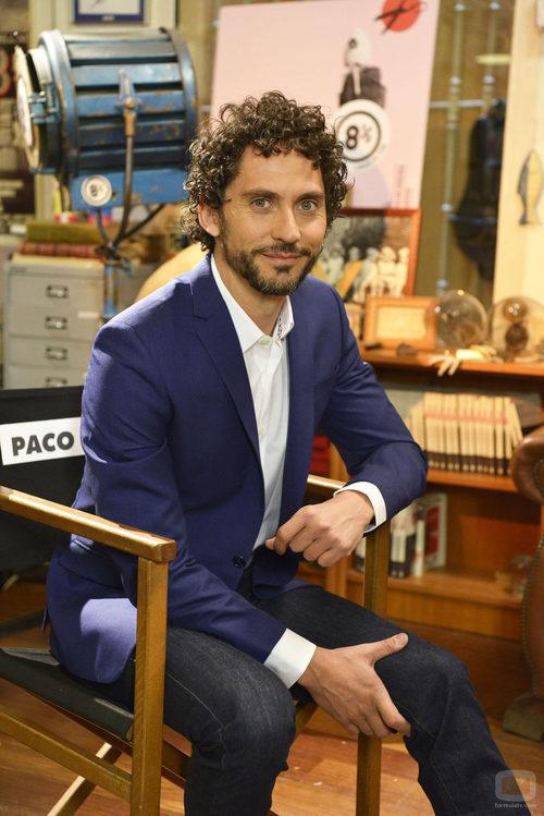Paco León preparado para el encuentro