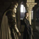 Cersei mira con complicidad a La Montaña en el 6x08 de 'Juego de Tronos'