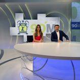 Miki Nadal y María Gómez presentan '90 Minuti', el nuevo programa de actualidad deportiva