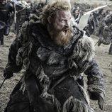 """Tormund Giantsbane durante """"La Batalla de los Bastardos"""" en 'Juego de Tronos'"""