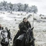 """Jon Snow se prepara para """"La Batalla de los Bastardos"""" de 'Juego de Tronos'"""