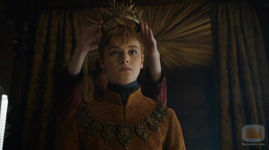 """El rey Tommen cegado por El Gorrión Supremo en """"Vientos de invierno"""""""