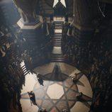 El Septo de Baelor, abarrotado ante el juicio de Cersei