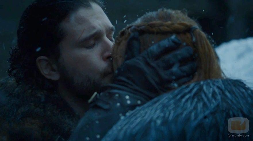 Jon y Sansa, más unidos que nunca en 'Vientos de invierno'