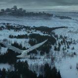 El cuervo blanco anuncia la llegada del invierno