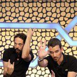 Juan y Damián, colaboradores del programa de 'El hormiguero'