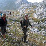 Zapatero, montañero con Jesús Calleja en Cuatro
