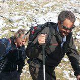 Zapatero se va a la montaña con Jesús Calleja