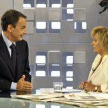 María Teresa Campos entrevista a Zapatero