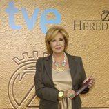 La actriz Concha Velasco en la presentación de la segunda temporada de 'Herederos'