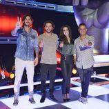Alejandro Sanz, Malú, Melendi y Manuel Carrasco, coaches de 'La Voz 4'