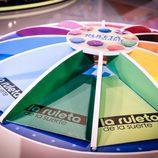 'La ruleta de la suerte' decorada para el verano