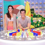 Jorge y Laura posan juntos en 'La ruleta de la suerte'
