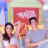 Jorge y Laura posan juntos en las hamacas de 'La ruleta de la suerte'