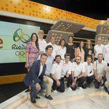 Foto Familia de los 'Juegos de Río 2016'