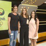 Las deportistas de Río Eli Pinedo, Helena Casas y Carmen Martín