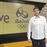 Rogelio Vázquez, responsable del programa Teledeporte en los 'JJOOde Río 2016'