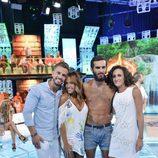 Suso, Steisy, Cristian y Dulce, concursantes de 'Supervivientes 2016'