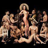 Samira Salomé desnuda en Primera Línea