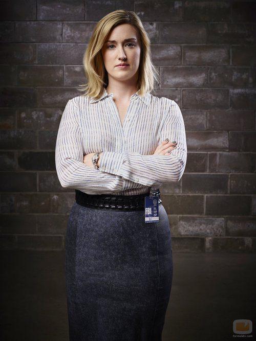 Ashley Johnson es la agente Patterson en 'Blindspot'