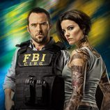 Kurt Weller y Jane Doe, personajes de 'Blindspot'