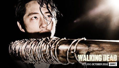 Glenn en la temporada 7 de 'The Walking Dead'