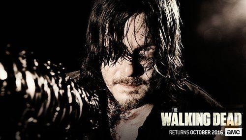Daryl en la temporada 7 de 'The Walking Dead'