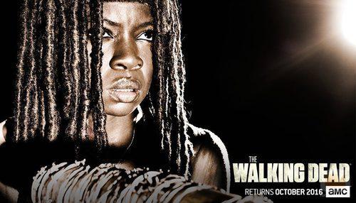 Michonne en la temporada 7 de 'The Walking Dead'