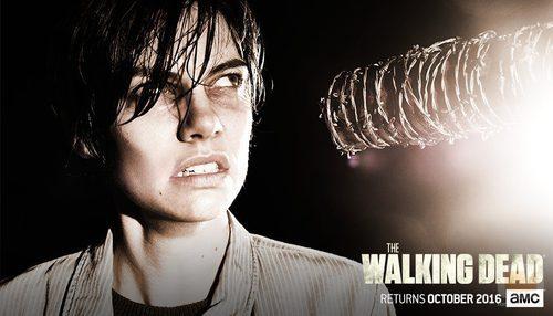 Maggie en la temporada 7 de 'The Walking Dead'