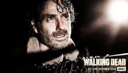 Rick en la temporada 7 de 'The Walking Dead'