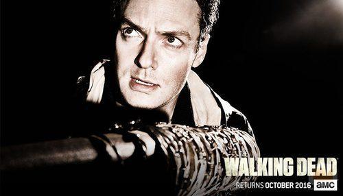 Aaron en la temporada 7 de 'The Walking Dead'