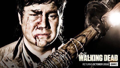 Eugene en la temporada 7 de 'The Walking Dead'