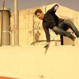 Héctor (Rodolfo Sancho) es una persecución de la 2ª temporada de 'Mar de plástico'