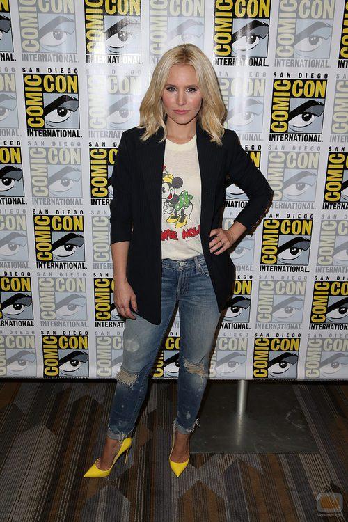 Kristen Bell de visita en la 'Comic Con'